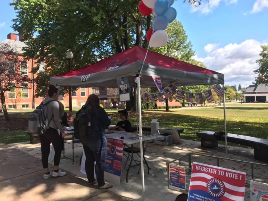Voter Information Tent